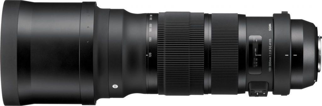 SIGMA 120-300mm F2.8 S DG OS HSM
