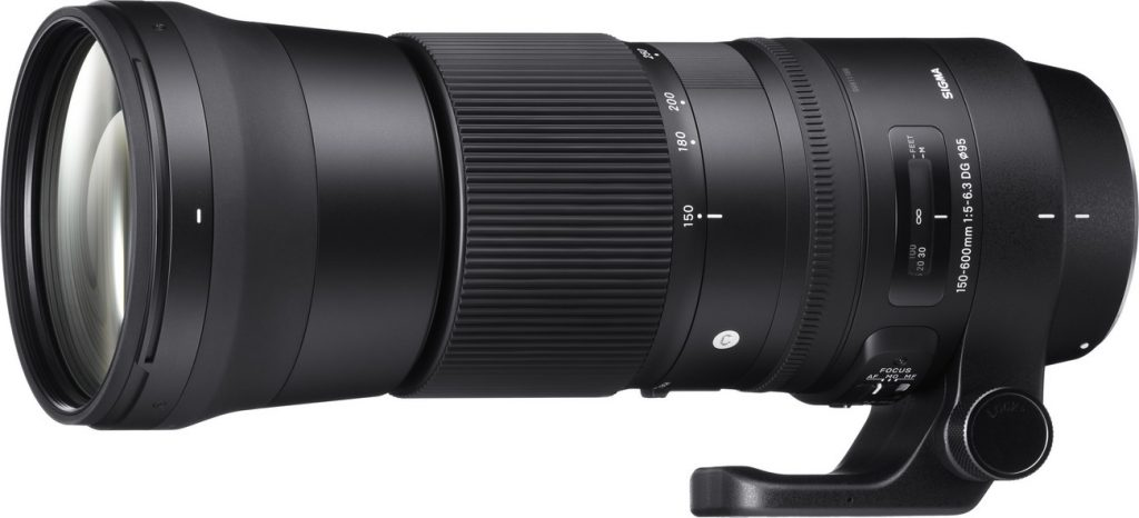 SIGMA 150-600mm F5-6.3 C DG OS HSM
