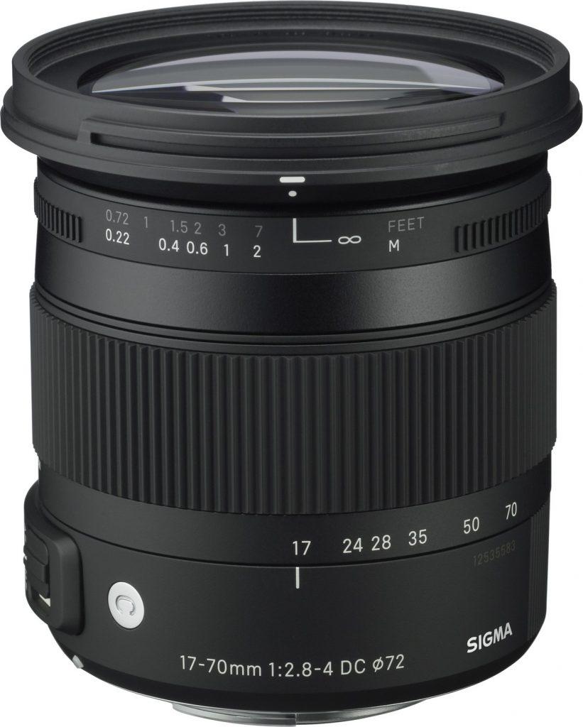 SIGMA 17-70mm F2.8-4 C DC MACRO OS HSM