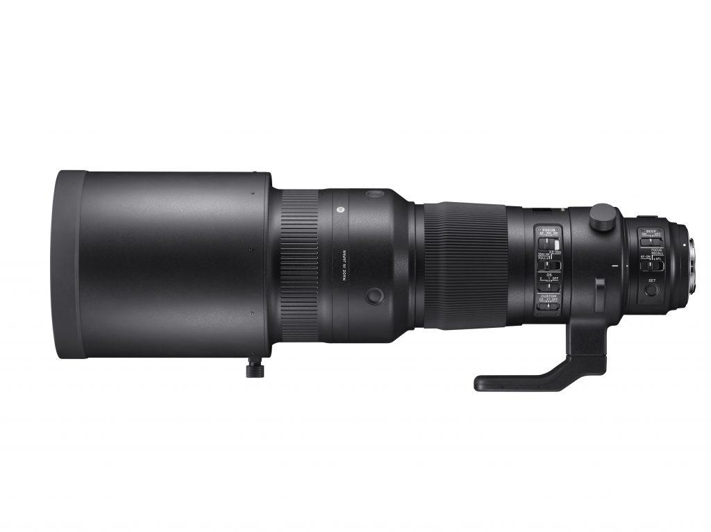 SIGMA 500mm F4 S DG OS HSM