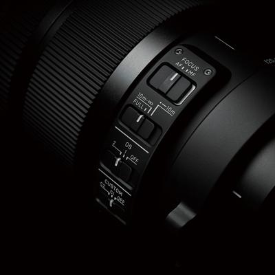 SIGMA 120-300mm F2.8 S DG OS HSM Detal