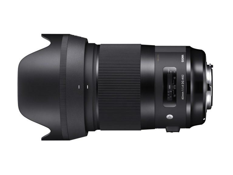 SIGMA 40mm F1.4 A DG HSM