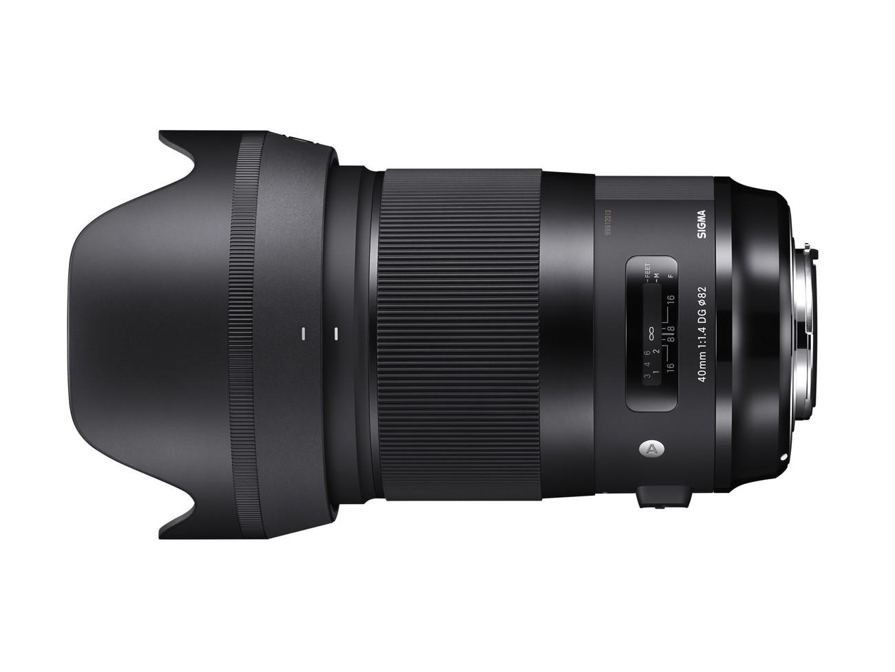 Optyczne fotografuje Sigmą A 40mm F1.4 DG HSM