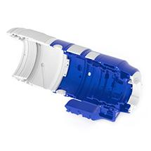 SIGMA 70-200mm F2.8 S DG OS HSM Przekrój obudowy