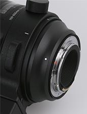 SIGMA 100-400mm F5-6.3 C DG OS HSM Mocowanie