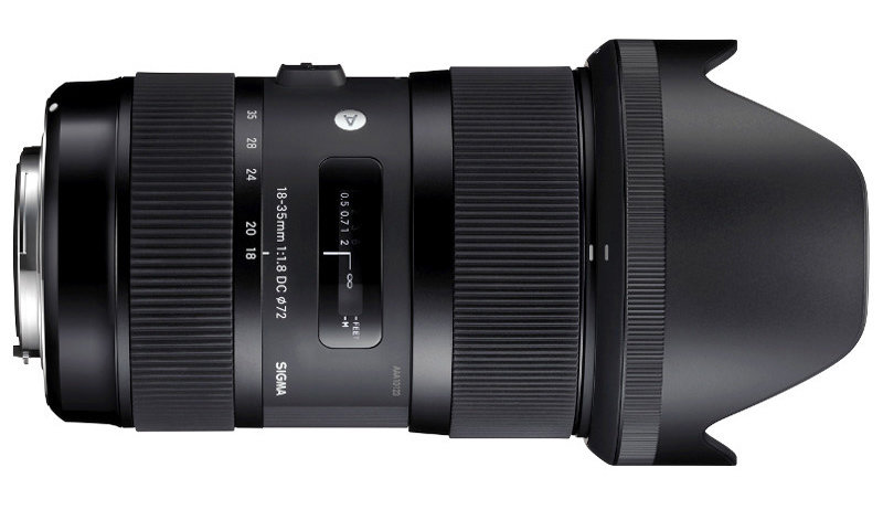 SIGMA 18-35mm F1.8 A DC HSM