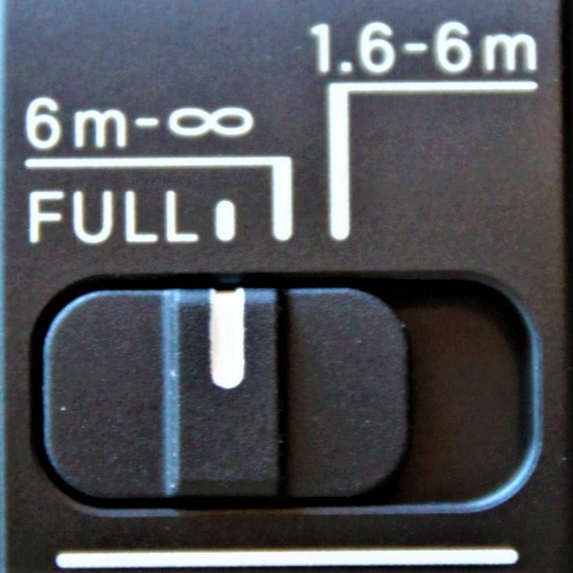 SIGMA Przełącznik definiujący odległość ostrzenia