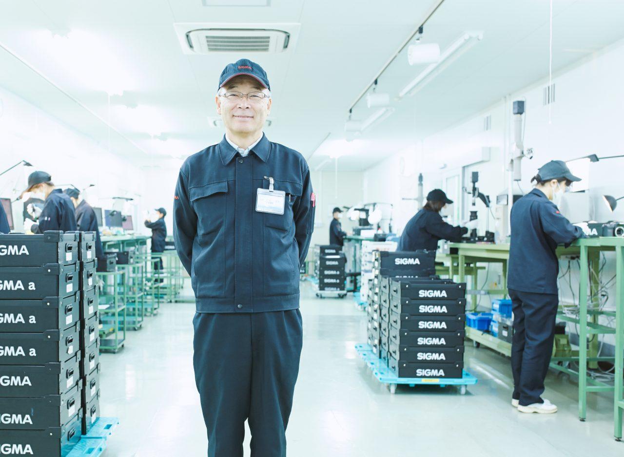Takeo Hanzawa – szef fabryki w Aizu