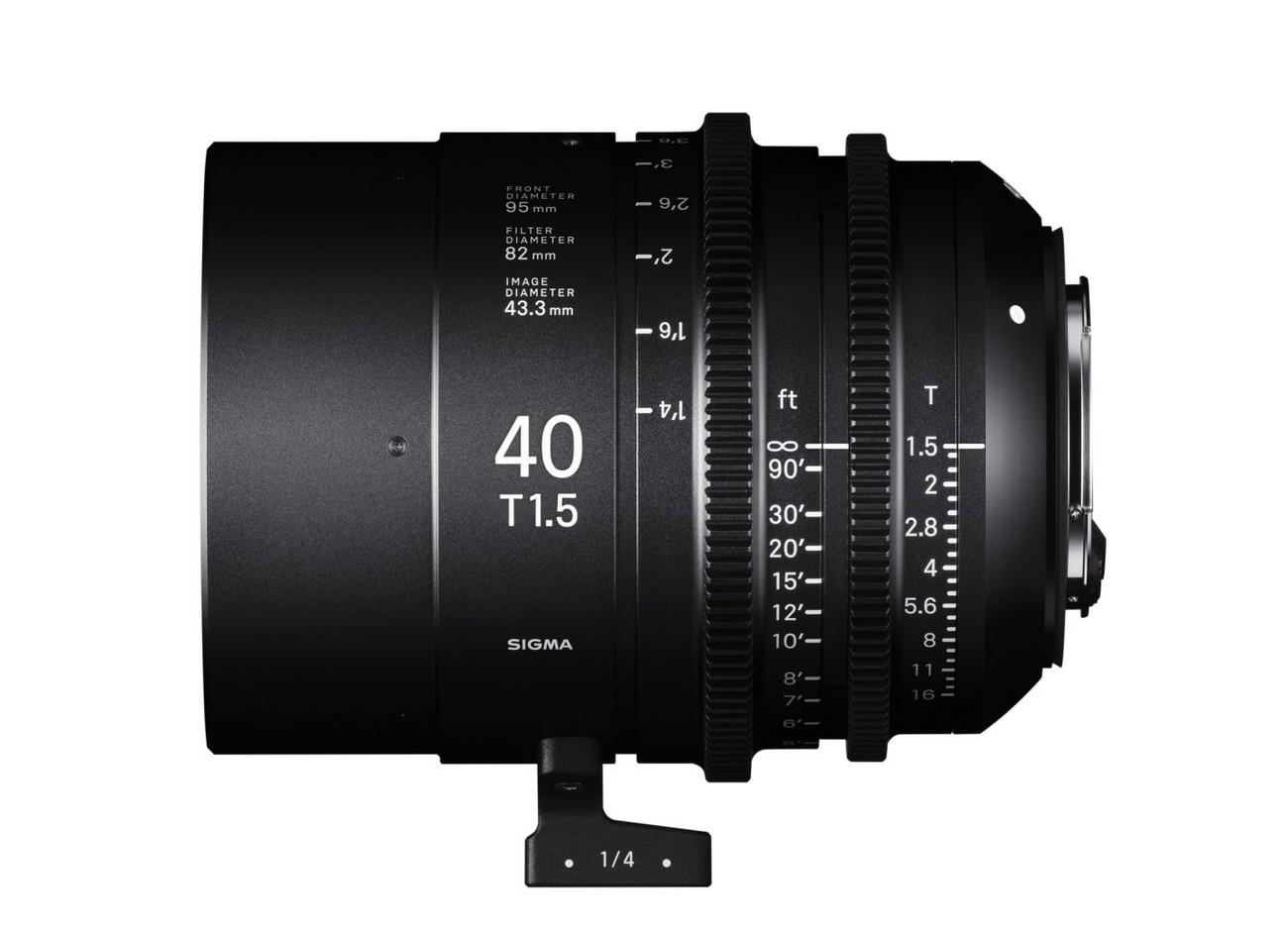 Obiektyw Sigma CINE 40mm T1.5 FF trafia na rynek fotograficzny