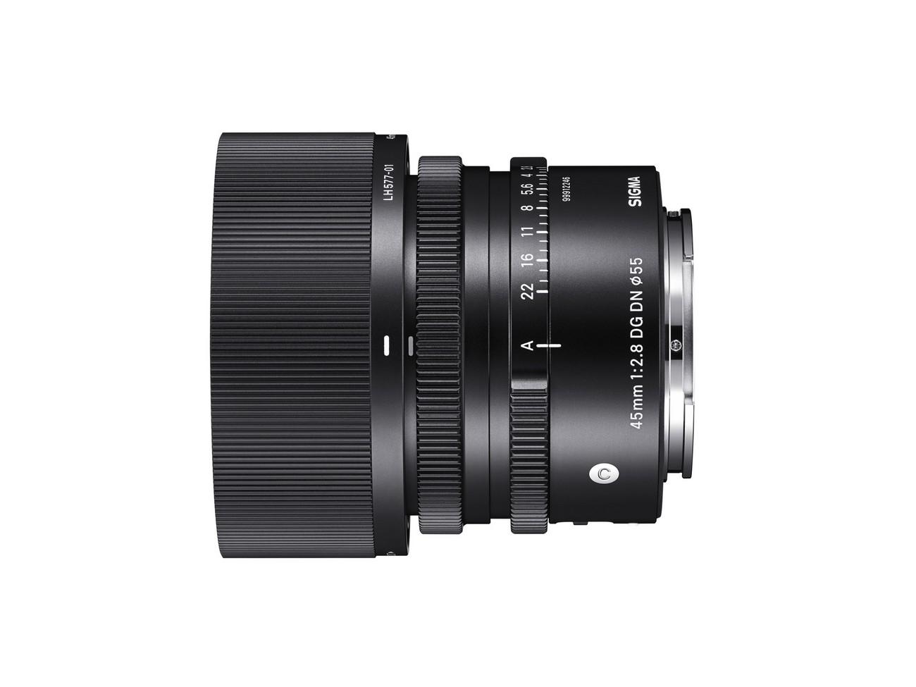 SIGMA 45mm F2.8 C DG DN – Przedstawiamy szerokokątny stałoogniskowy obiektyw o niezwykłej rozdzielczości, zaprojektowany do pełnoklatkowych aparatów bezlusterkowych