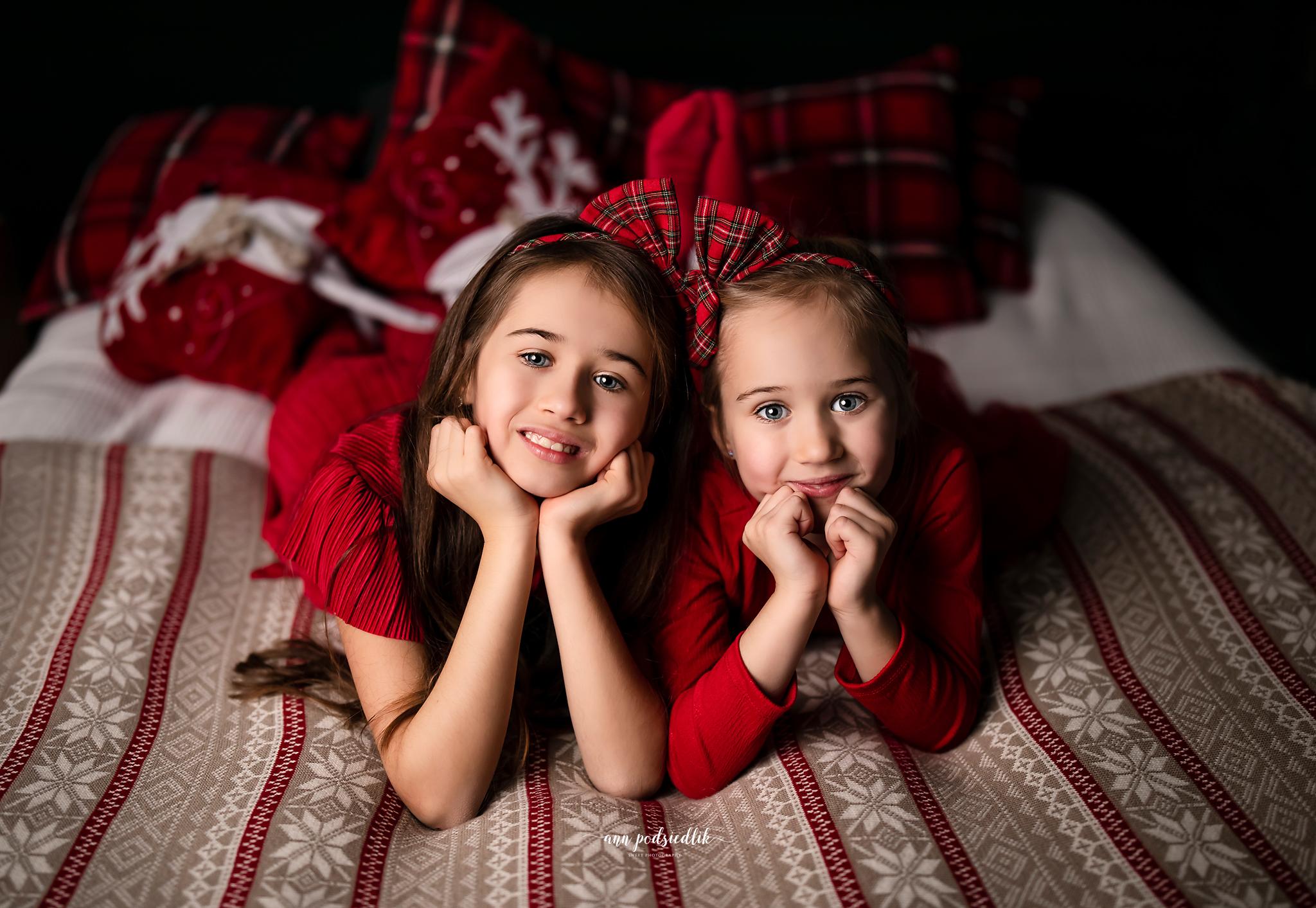 Magia Świąt w fotografii dziecięcej Ann Podsiedlik