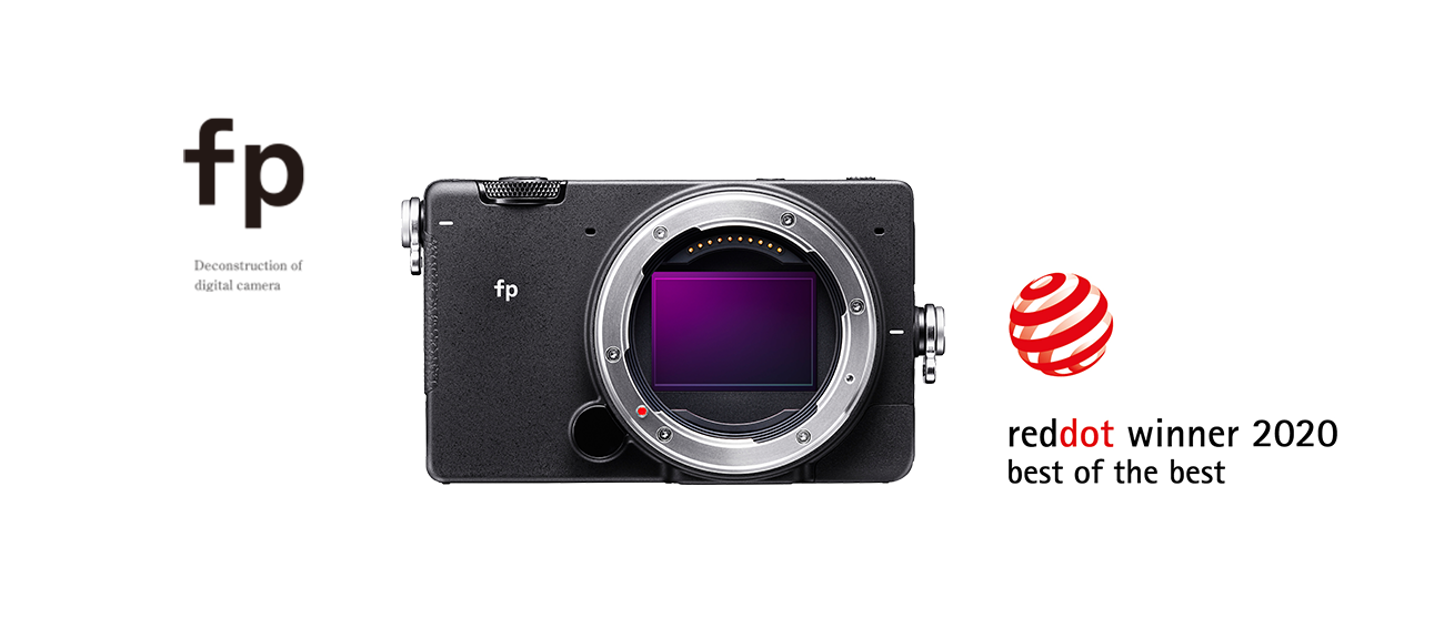 "SIGMA fp zdobyła nagrodę ""Red Dot Award: Best of the Best Product Design 2020"""
