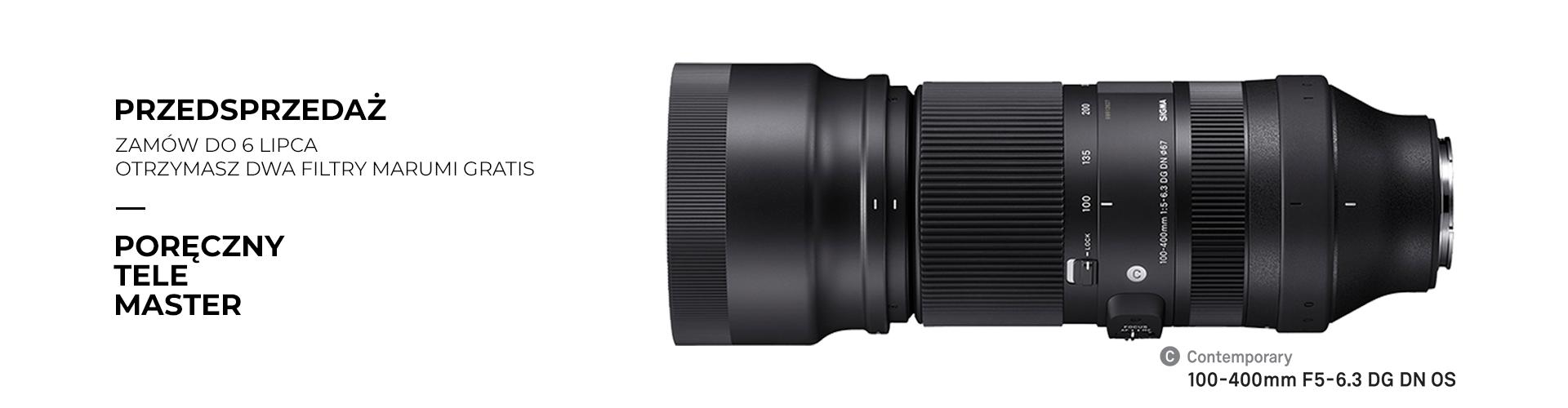 SIGMA – przedsprzedaż 100-400mm F5-6.3 DG DN OS