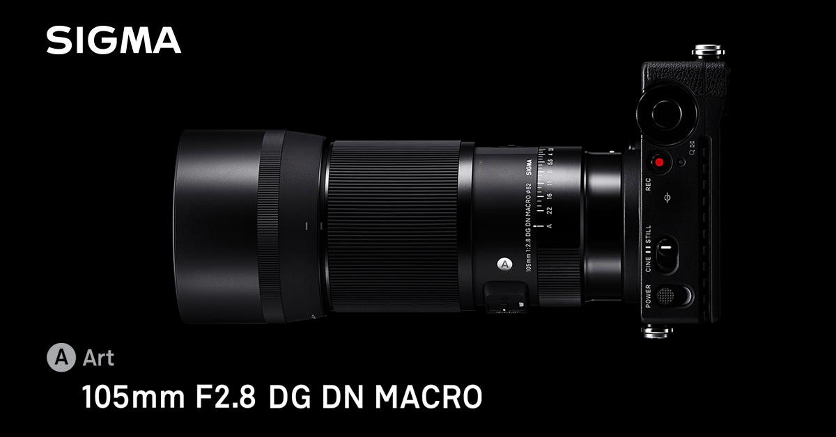 Nowość. SIGMA 105mm F2.8 DG DN MACRO | ART