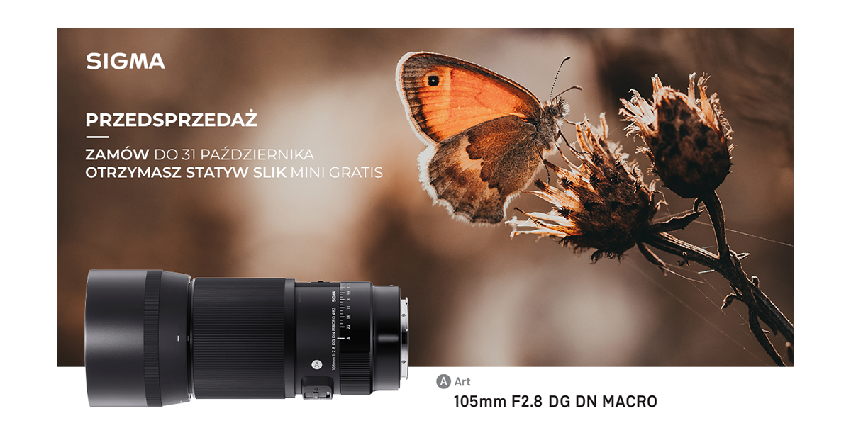 Nowa SIGMA 105mm F2.8 DG DN Macro | Art już dostępna